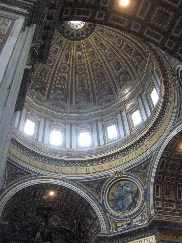 Interior--St. Peter's Cathedral (the cupola is 448 feet high).