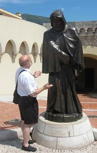 Joel confronts Grimaldi.