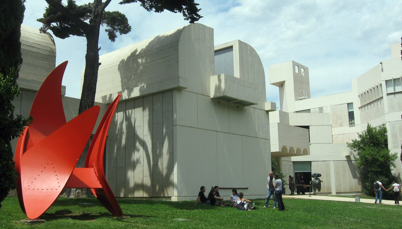 The Fundacio Joan Miro.