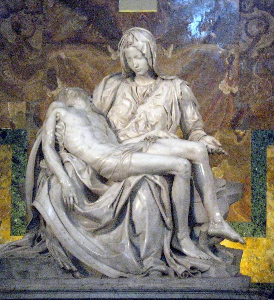 The Pieta.