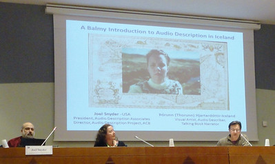 """A Balmy Introduction to Audio Description in Iceland"""