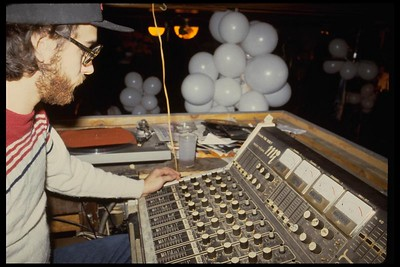 Eddie at the Joyous Lake soundboard