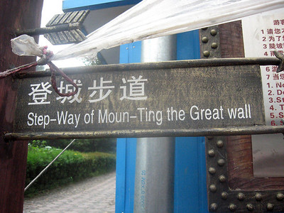 Hmmm ... should I take the step-way for the moun-ting?