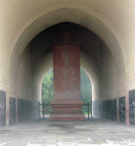 The Changling Tomb (Emperor Yongle's Tomb)--see placard photo, two slides forward