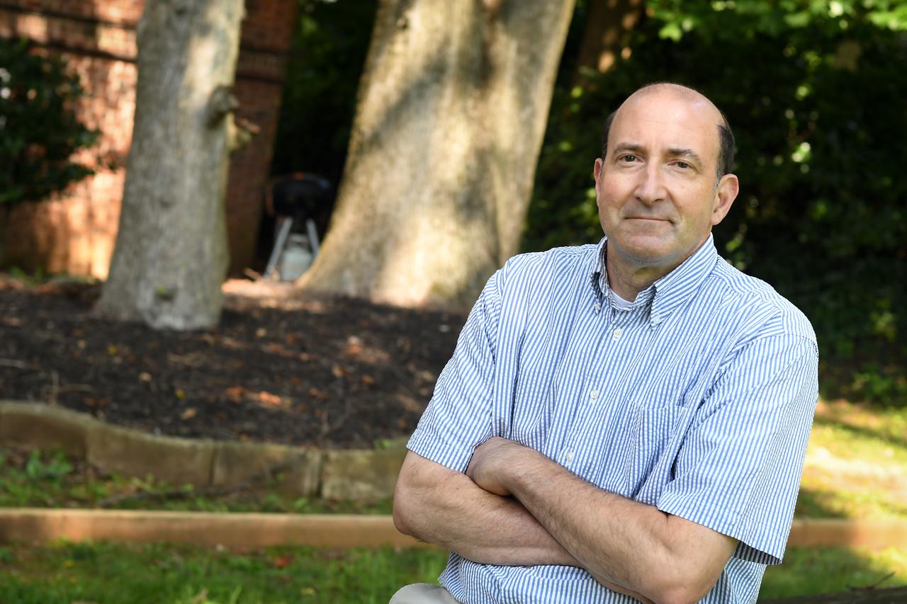 Peter Beilenson, (former) Evergreen Health photo taken in Roland Park.   Photo By:  Eric Stocklin