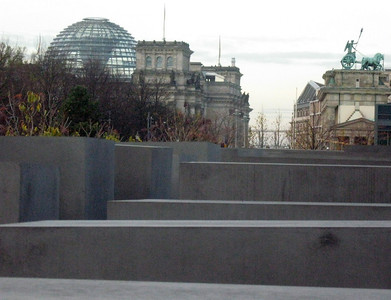 ... not far from the Reichstag and the Bradenburg Gate.