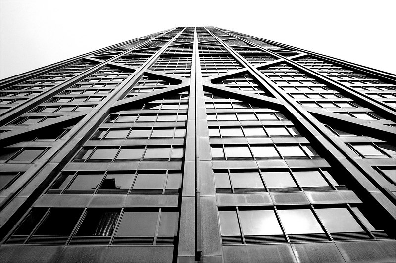 The John Hancock building (over 100 floors).