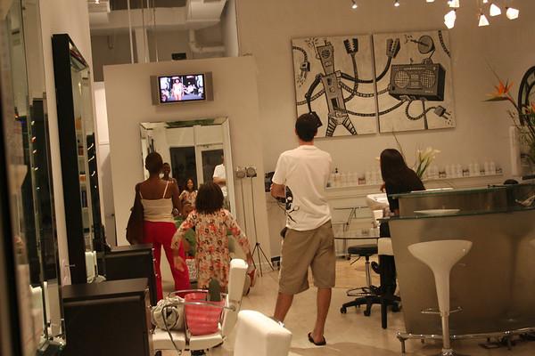 Bond Street's Hair Show Delray December first - 2008