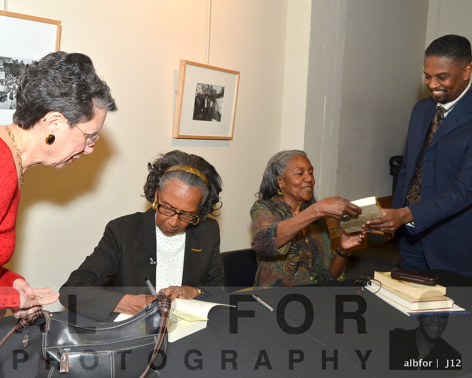 Joan Myers Brown & Brenda Dixon Gottschild Book signing