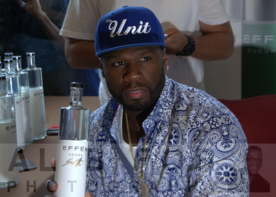 July 22, 2015 Bottle Signing & Tasting with 50 Cent