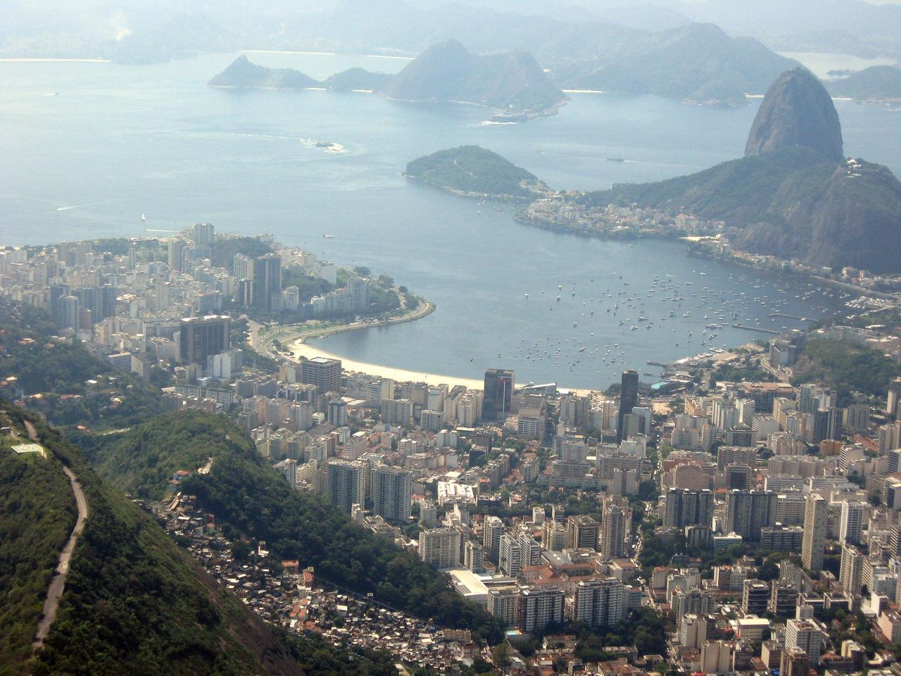 Rio Panorama #5--Cristo view 2
