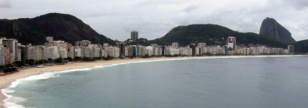 Rio Panorama #3--Copacabana Beach
