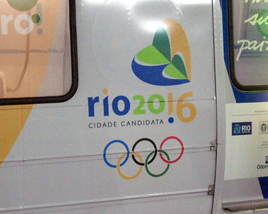The Rio subway is far more limited than the system in Sao Paulo--and everywhere you go, Rio's candidacy for the 2016 Summer Olympics is touted.
