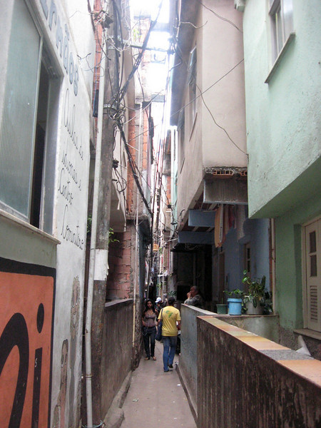 Passageways are no bigger than two-three people across ...