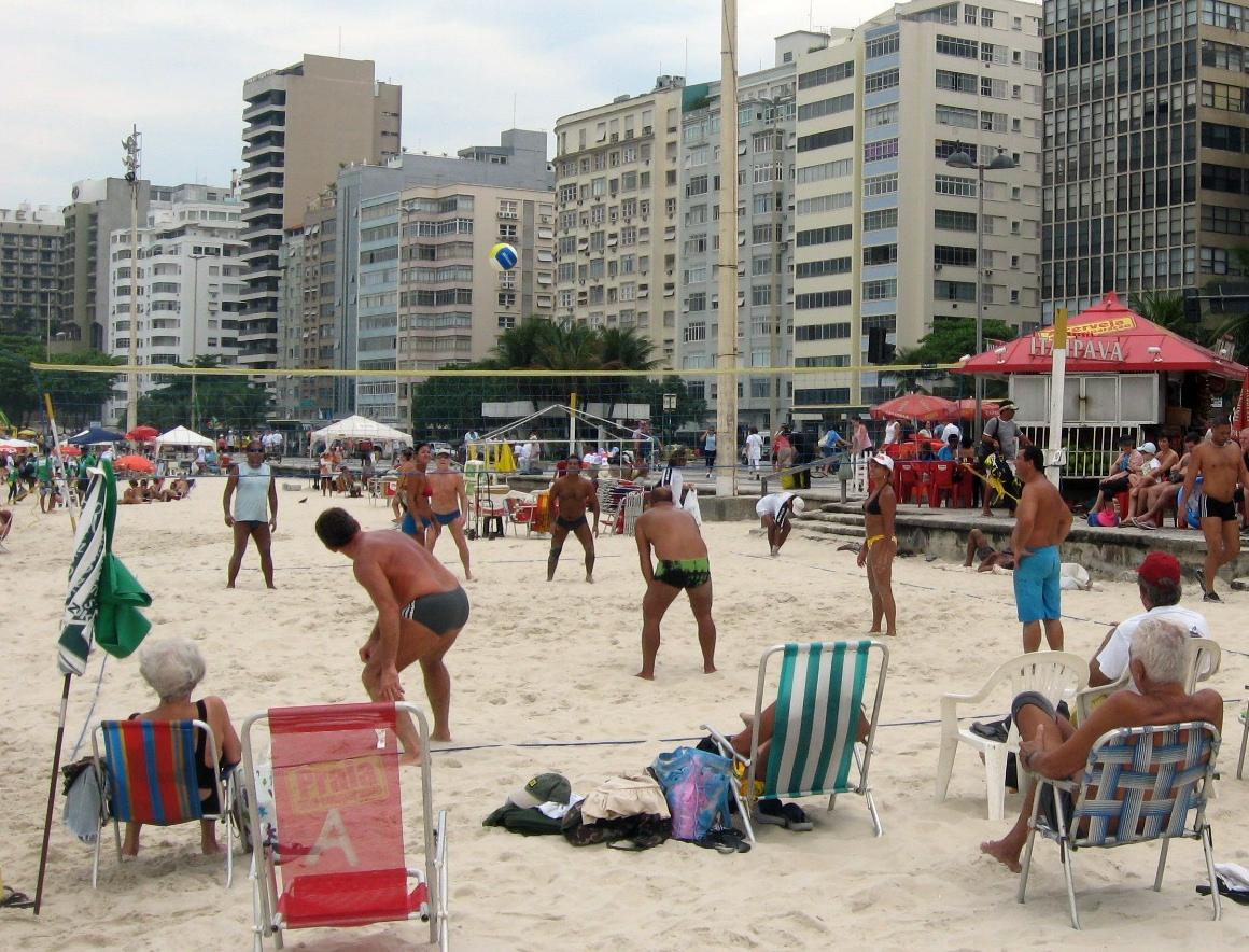 ... beach volleyball ...