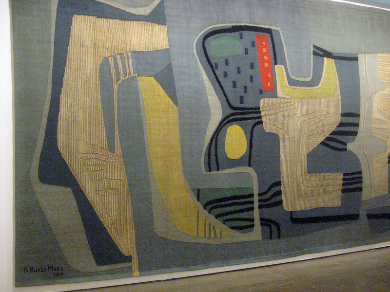 Marx' monumental tapestry--some 15 feet high and perhaps ten times as wide.