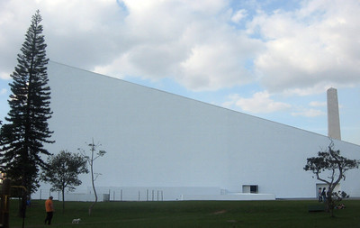 The Parque's Auditorio, viewed from the side.