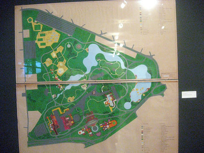 Marx' design for the Parque do Ibirapuera.
