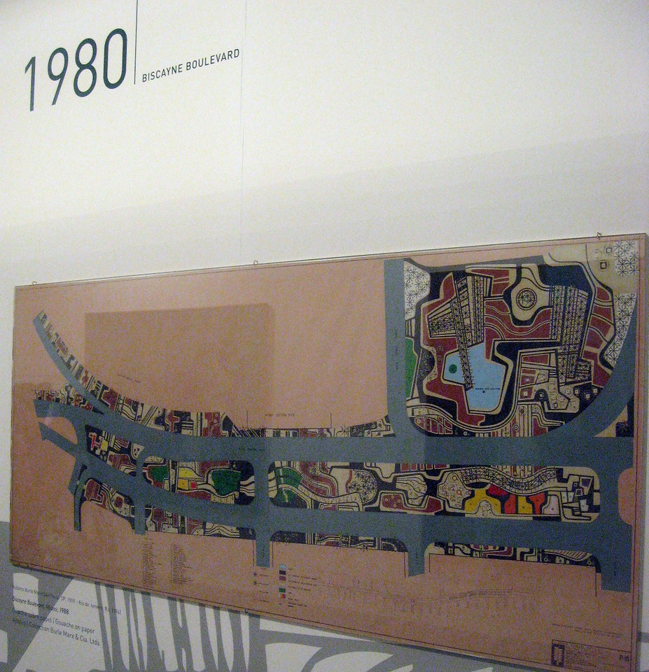 Marx' 1980 plan for Biscayne Boulevard in Florida.