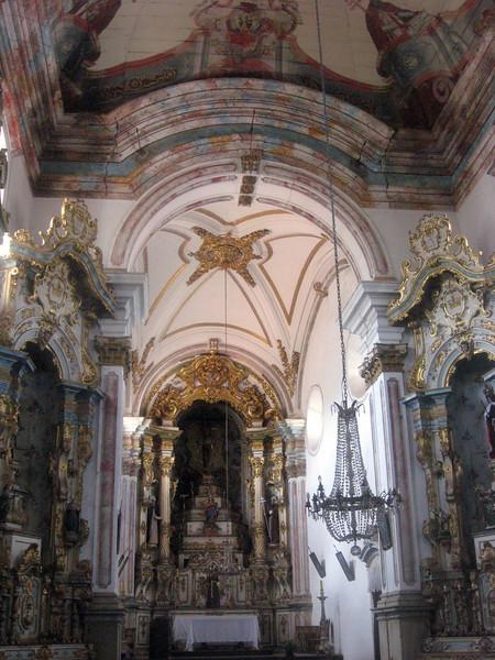Interior views of the church.