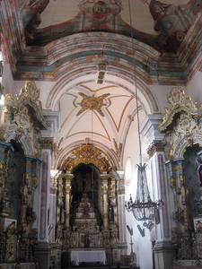 Interior views of the church.