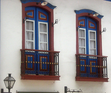 The windows and doors of Mariana.