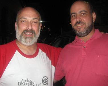 """Me and my """"twin"""" (or so we were told)--my host, Professor Jose Luiz Vila Real Goncalves (Universidade Federal de Ouro Preto; President, Associacao Brasileira de Pesquisadores em Traducao)"""