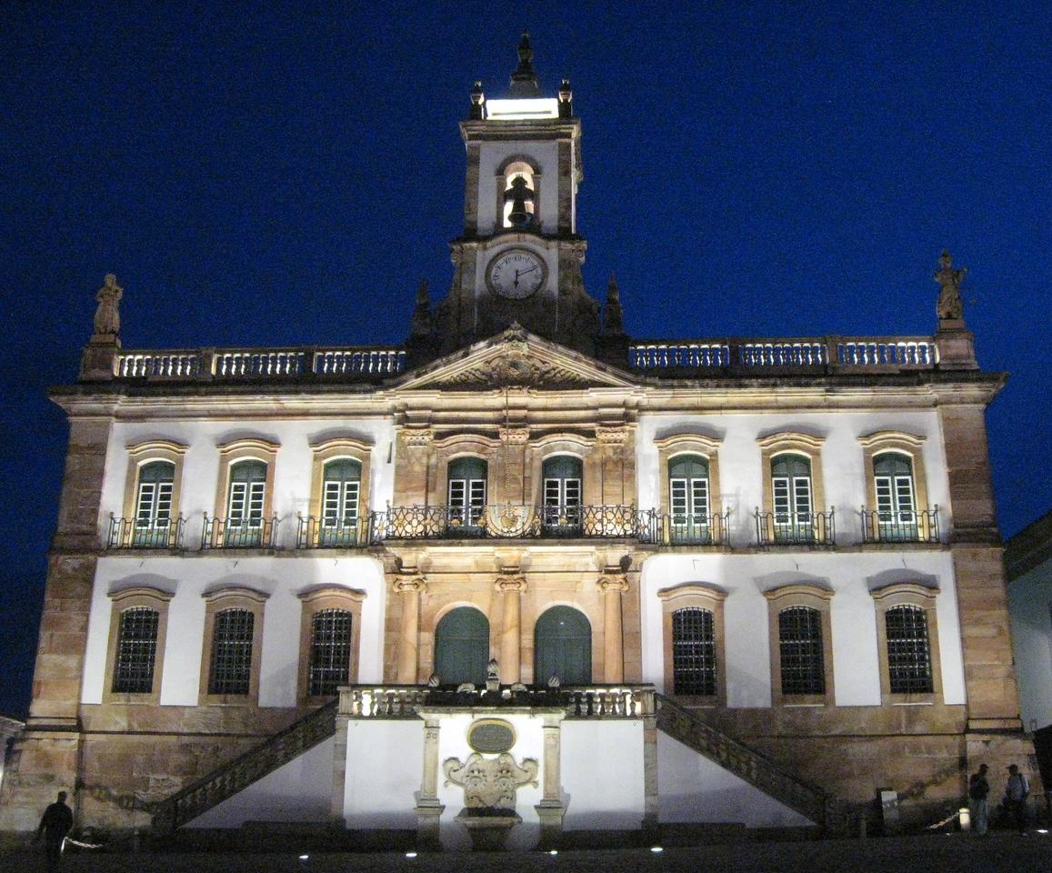 Museu da Inconfidencia, in the town's main square.