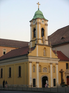 Church constructed in the middle ages by survivors of the Great Plague
