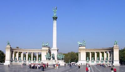Heroes' Square--Millennium Monument