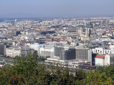 "Panorama of Budapest--from ""Buda"" #5"