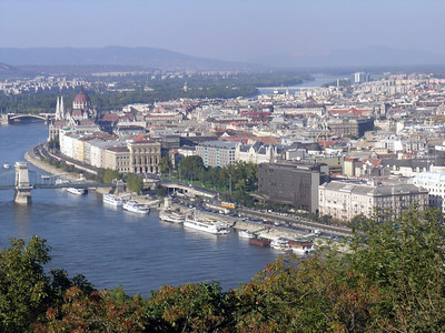 "Panorama of Budapest--from ""Buda"" #4"