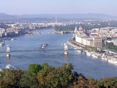 "Panorama of Budapest--from ""Buda"" #3"