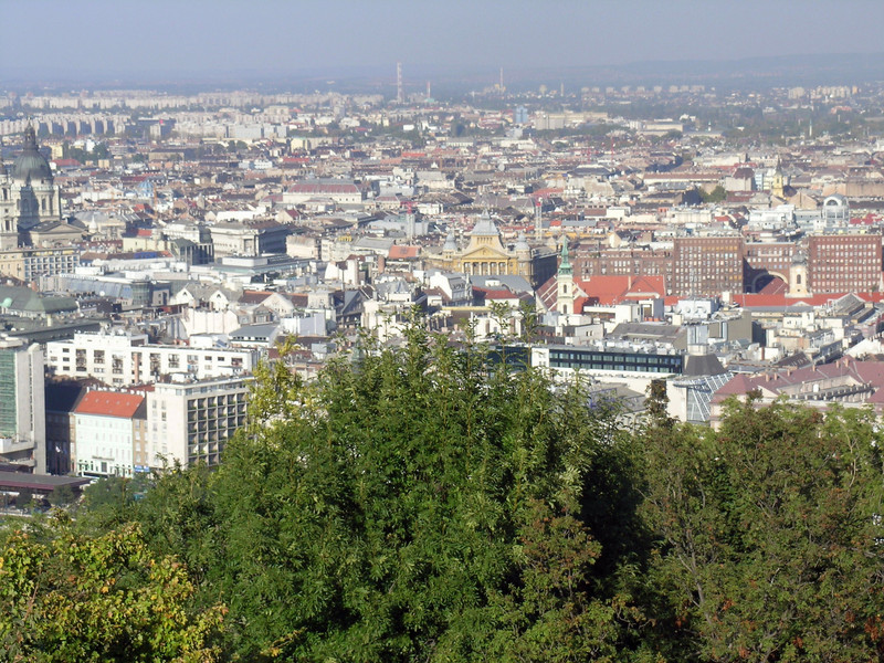 "Panorama of Budapest--from ""Buda"" #6"