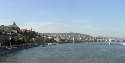 View across the Danube River