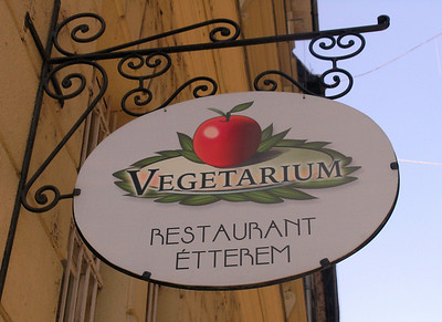 We pause for a vegan meal at The Vegetarium