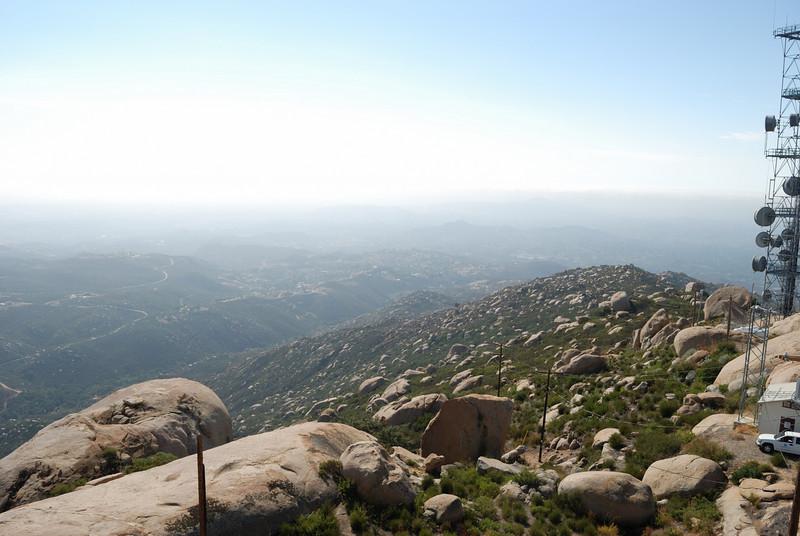 The view towards Rancho Bernardo