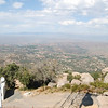The view north towards Ramona