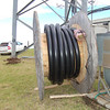 New 6 inch (diameter) feedline for the Hawaii Public Radio antenna system.