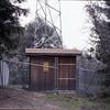 The original transmitter shack, 1980