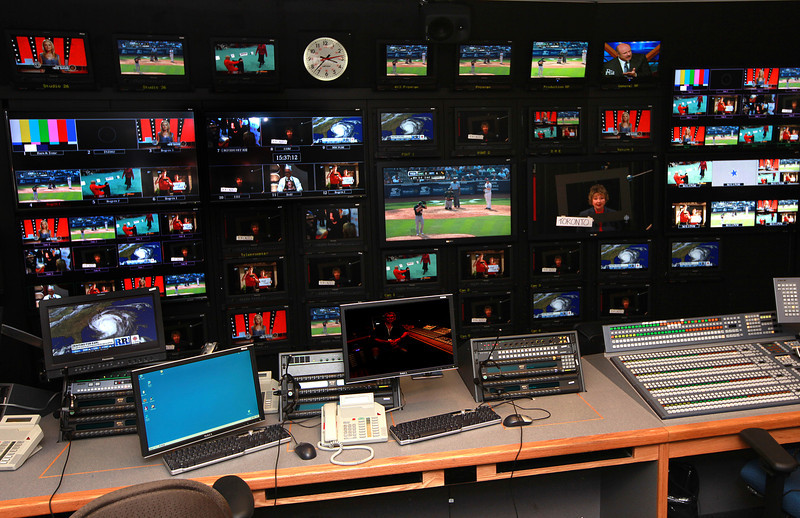 Studio 43 Video control room