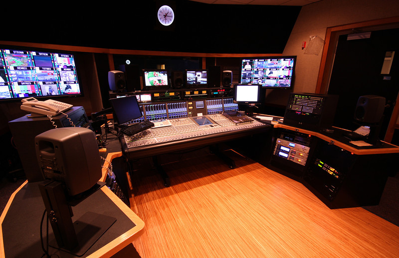 Studio 51 Audio control room