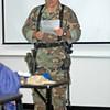Lt. Jud Flagg, Firing Range Instruction.