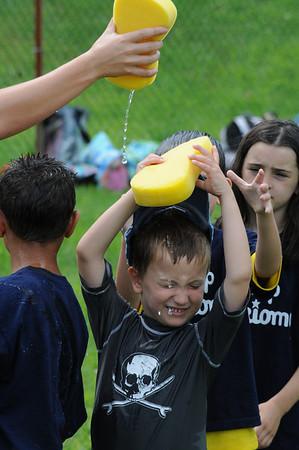 Camp Perkiomy play water games