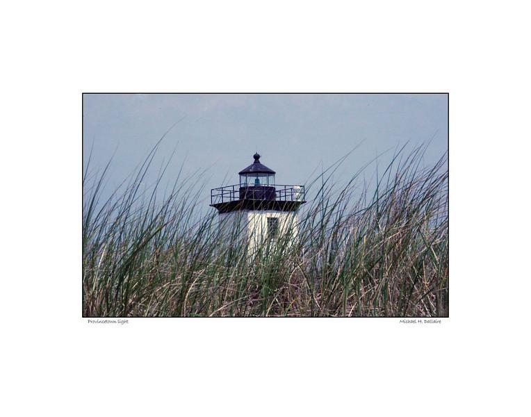 Province Town beach Light