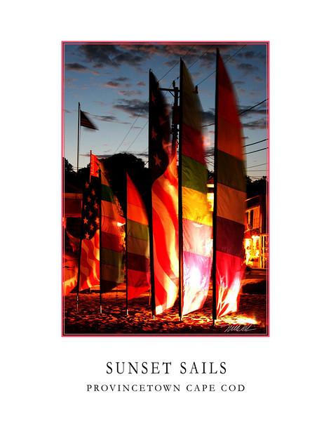 Sun Set Sails Provincetown