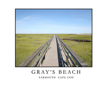 Boardwalk Wellfleet Cape Cod
