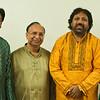 Chetan Gadhavi (Yellow Dress) and his artist's troupe.