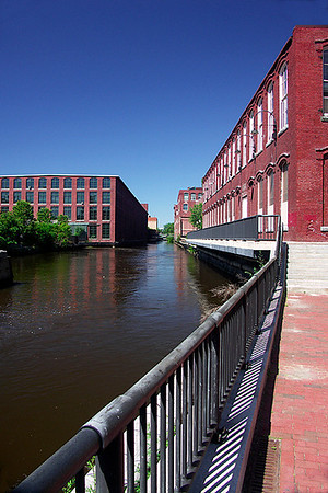 "Pawtucket Canal, Lowell, MA This will be the cover of Bob Sanchez' new book ""Getting Lucky"": http://bobsanchez1.blogspot.com/2008_08_01_archive.html"