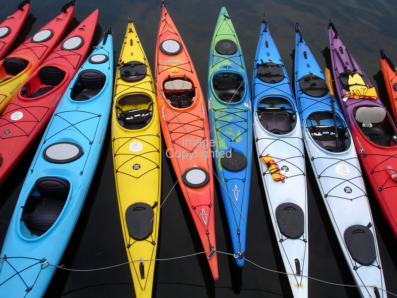 Kayaks for rent in Rockport, Massachusettes